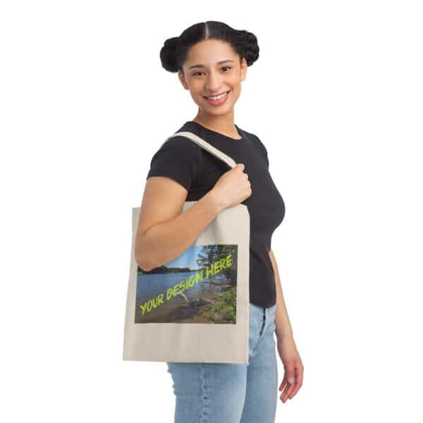 custom design - your picture here - canvas tote bag