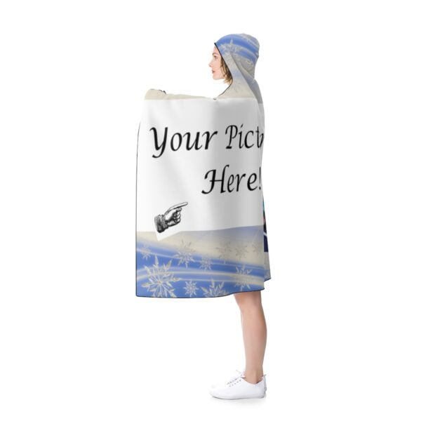 custom hooded blanket - your picture here