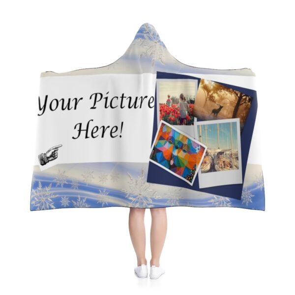 custom hooded blanket - your picture here - 80x56